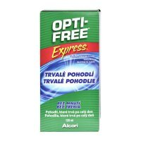 Alcon Opti-Free Express, Płyn do soczewek 120 ml - miniatura