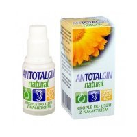 ANTOTALGIN NATURAL KROPLE DO USZU  15 g - miniatura