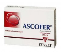 ASCOFER , 200mg 50 tabletek - miniatura