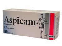 ASPICAM BIO 7,5 mg, 30 tabletek - miniatura