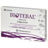 BIOTEBAL  5 mg 30 TABLETEK - miniatura