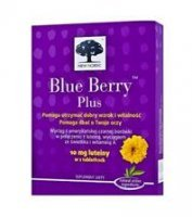 BLUE BERRY PLUS 120 TABLETEK - miniatura