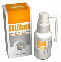 GOLDisept spray do ust i gardła 25 ml - miniatura