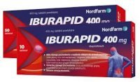 IBURAPID 400 mg, 50 tabletek
