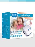Inhalator Sanity Simple Smart&Easy 1 szt - miniatura