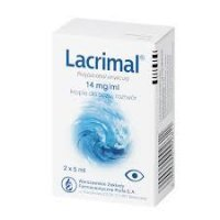 LACRIMAL, krople do oczu 2 x 5 ml - miniatura