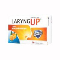 LARYNG UP Orange 24 tabletki do ssania - miniatura