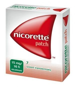 Nicorette Invisipatch 15mg/16h plastry 7 szt
