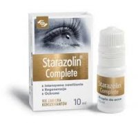 STARAZOLIN COMPLETE, krople do oczu 10 ml - miniatura